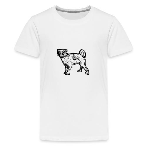Pug Dog - Teenage Premium T-Shirt