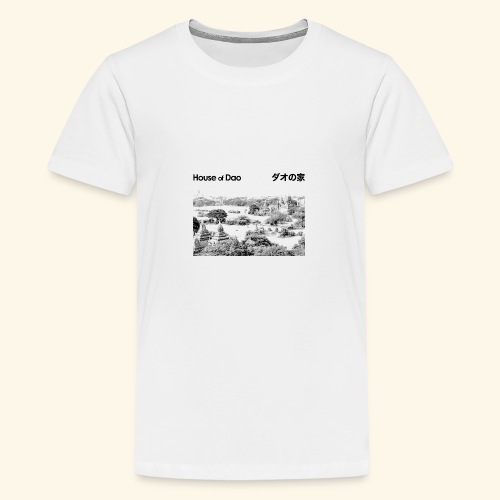 House of Dao - Temple BW - Teenager Premium T-Shirt
