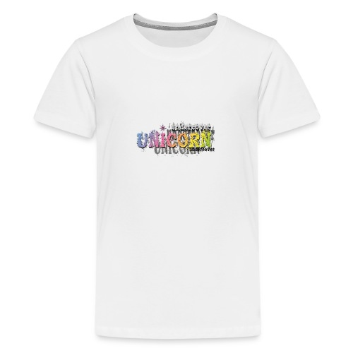 Undercover Unicorn - T-shirt Premium Ado
