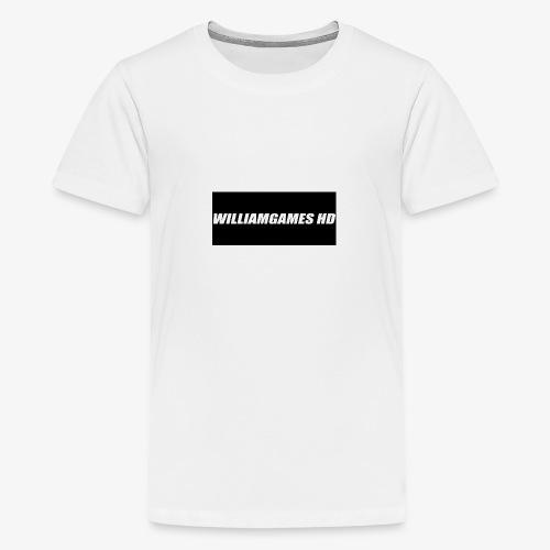 william shirt logo - Teenage Premium T-Shirt