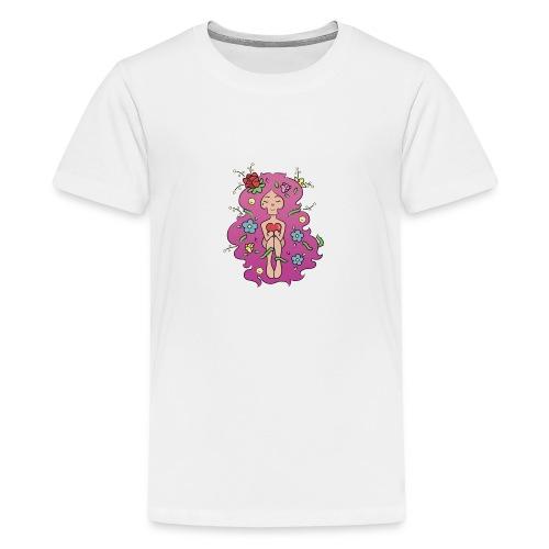 JARDIN LILA - Camiseta premium adolescente