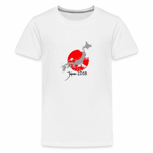 Japan 2018 - Premium T-skjorte for tenåringer