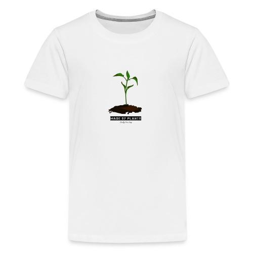 Made by plants - Teenage Premium T-Shirt