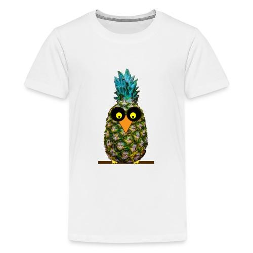Owl disguised as a pineapple - Maglietta Premium per ragazzi