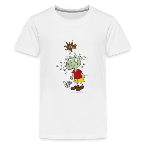 Oetinger Die Olchis und Fliegen - Teenager Premium T-Shirt