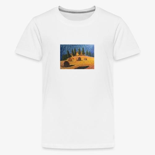 tuscany - Teenage Premium T-Shirt