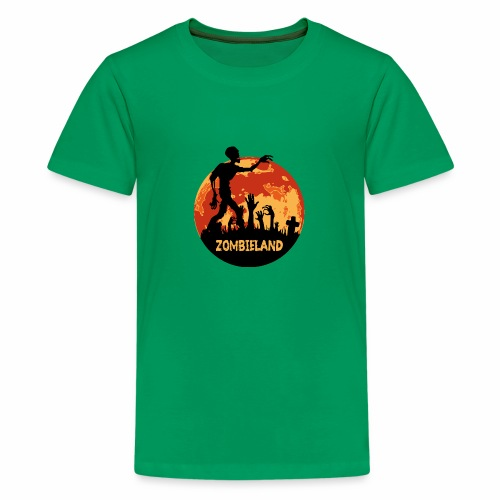 Zombieland Halloween Design - Teenager Premium T-Shirt