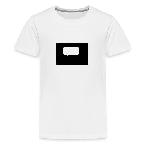 Speech bubblr - Teenage Premium T-Shirt