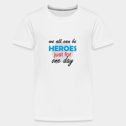 GHB Hero Zero 19032018 2 - Teenager Premium T-Shirt