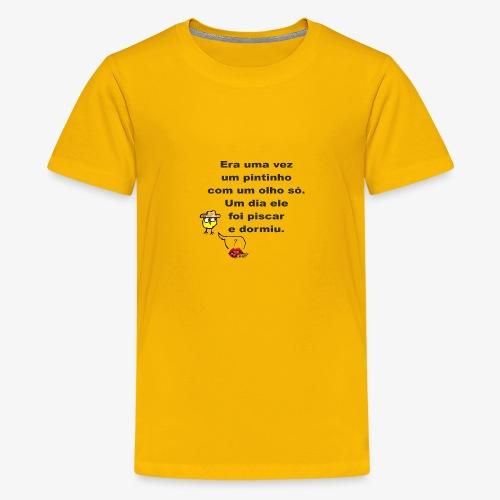 Era uma vez... - Teenage Premium T-Shirt