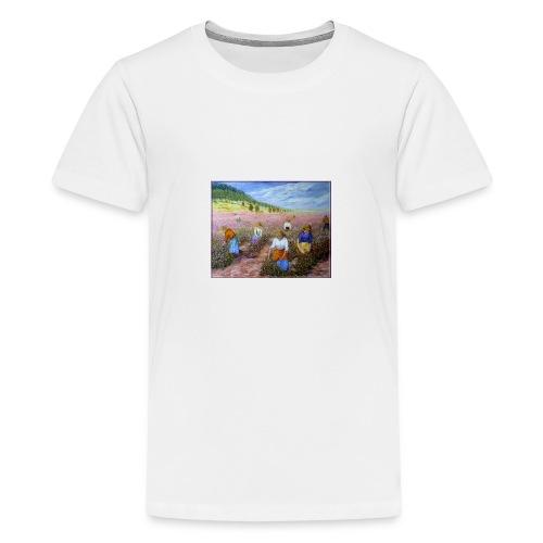 LA CUEILLETTE DES ROSES A GRASSE AUTREFOIS 1mx81 2 - T-shirt Premium Ado