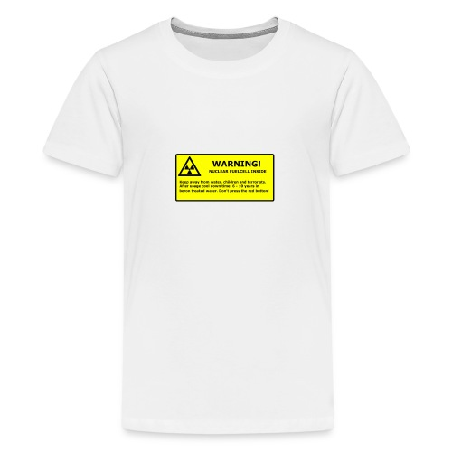 nuclear handy png - Teenager Premium T-Shirt