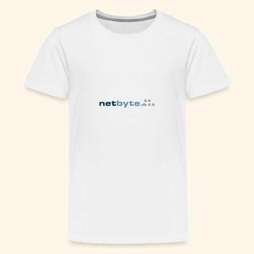 netbyte.dk logo - Teenager premium T-shirt