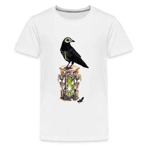 'Memento Mori' by BlackenedMoonArts - Teenager premium T-shirt