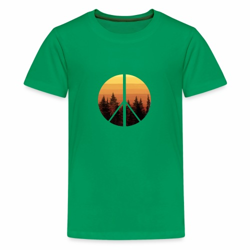 peace and sun - T-shirt Premium Ado