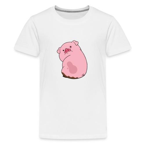 Morsomme griser - Premium T-skjorte for tenåringer