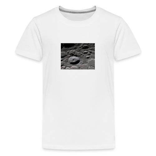 Moon surface I - Teenage Premium T-Shirt