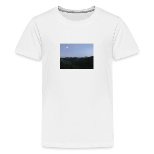 Paesaggio con luna - Maglietta Premium per ragazzi