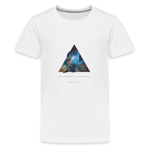 THE UNIVERSE IS INSIDE YOU - Premium-T-shirt tonåring