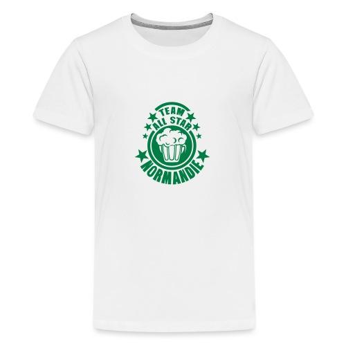 normandie team all star biere alcool 15 - T-shirt Premium Ado
