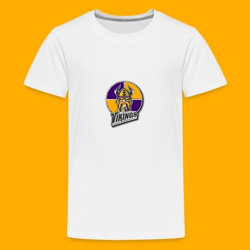 MVFGeV Logo mit Schatten - Teenager Premium T-Shirt