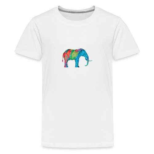 Elefant - Teenage Premium T-Shirt