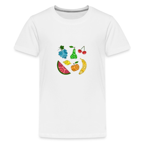 Obstsalat - Teenager Premium T-Shirt