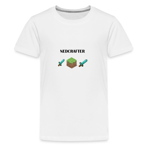 NedCrafter Logo - Teenager Premium T-Shirt