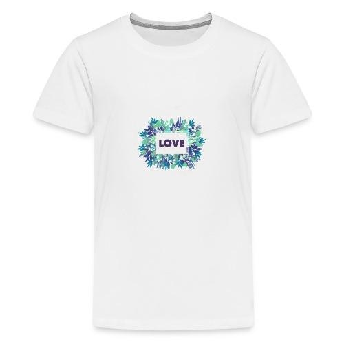 LOVE - Camiseta premium adolescente