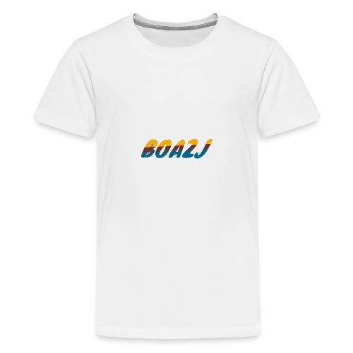 BoazJ Logo - Teenager Premium T-shirt