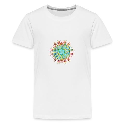 Flower Power - Teenage Premium T-Shirt