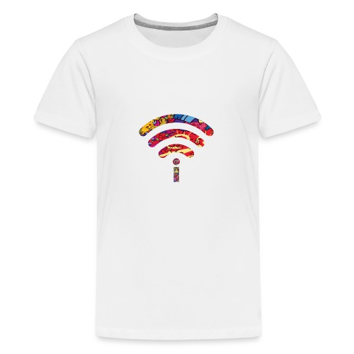 me wireless - Teenage Premium T-Shirt
