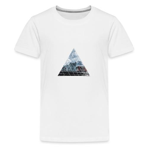 Hamburg Stadt Licht Harmony - Teenager Premium T-Shirt