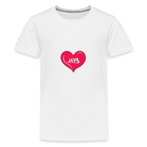 Love JAY-S - Maglietta Premium per ragazzi