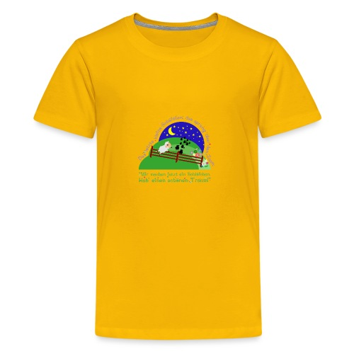 Schäfchen - Teenager Premium T-Shirt