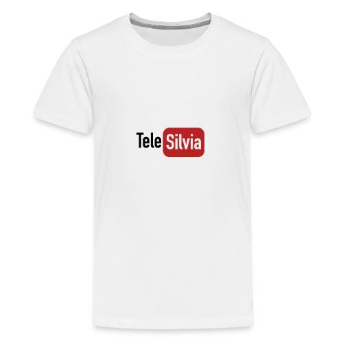 TELESILVIA LOGO - Maglietta Premium per ragazzi