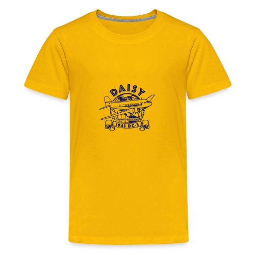Daisy Globetrotter 1 - Premium-T-shirt tonåring