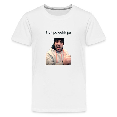 zehef pd oublie pa - T-shirt Premium Ado