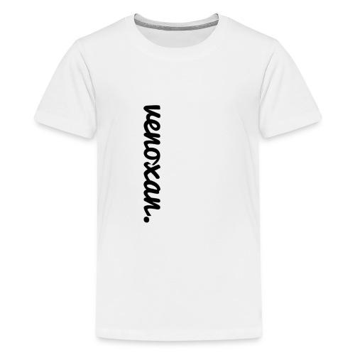 venoxan T-Shirt mit Schriftzug an der Seite - Teenage Premium T-Shirt