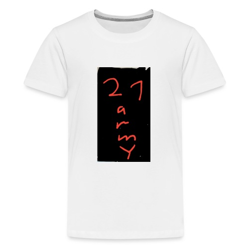 #21 army - Teenager Premium T-Shirt