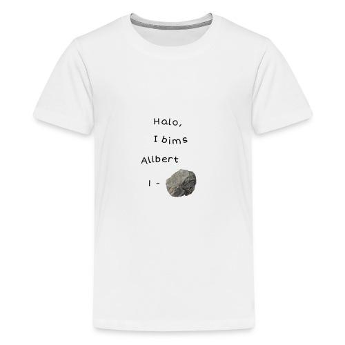 Albert Einstein - Teenager Premium T-Shirt