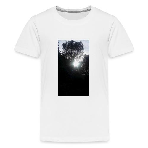 Alberi al tramonto - Maglietta Premium per ragazzi