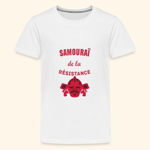 samourai de la résistance - T-shirt Premium Ado