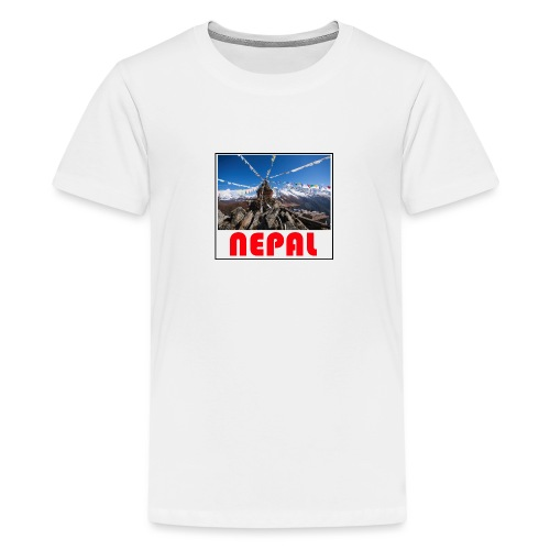 Nepal T-shirt - Teenage Premium T-Shirt