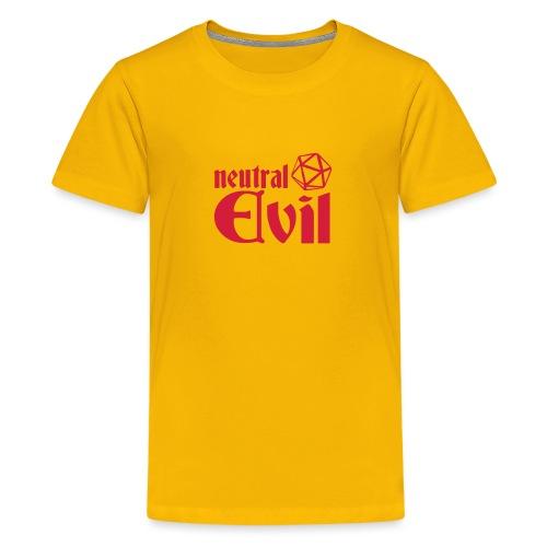 neutral evil - Teenage Premium T-Shirt