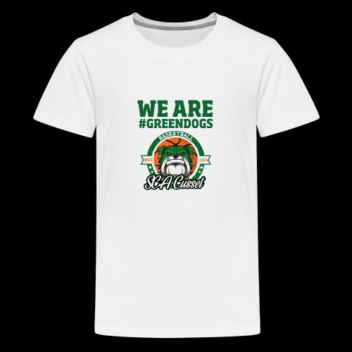 SCA CUSSET WE ARE GREEN - T-shirt Premium Ado