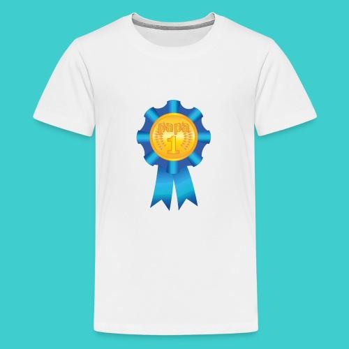 Papa Medaille - Teenager Premium T-shirt