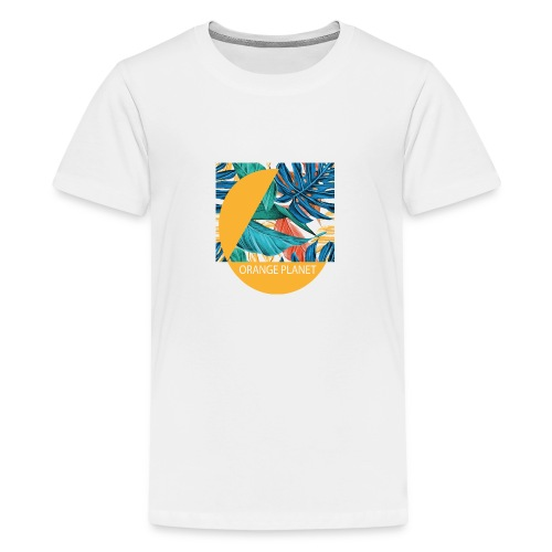 Orange Planet - Teenager Premium T-Shirt