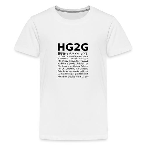 HG2G - Teenager Premium T-Shirt