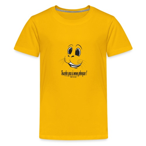 Touche pas a mon phoque de Berck! - T-shirt Premium Ado